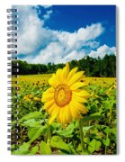 The Loner Spiral Notebook
