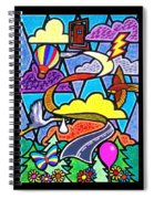 The Long And Winding Road Two Spiral Notebook