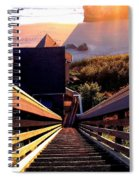 The Long Long Stairway    Spiral Notebook