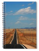 The Long Road To Santa Fe Spiral Notebook
