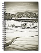The Long View Spiral Notebook