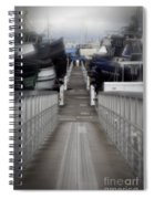 The Long Walk To Work Spiral Notebook
