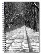 The Long Winter Walk Spiral Notebook