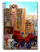 The Lookout On Mount Royal Montreal Spiral Notebook