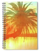 The Loop Palm Textured Spiral Notebook