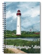 The Lord Guides  Spiral Notebook