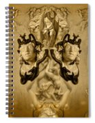 The Lord Of Shadows  Spiral Notebook