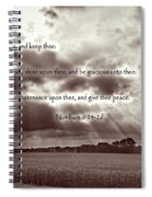 The Lords Blessing Spiral Notebook