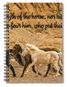 The Lord's Delight Spiral Notebook