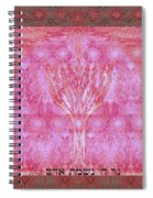 The Lord's Light Is The Man 's Soul Spiral Notebook