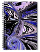 The Lost Statue Abstract Spiral Notebook