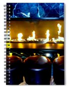 The Lounge Fireplace Spiral Notebook