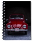 The Love Bug Square Spiral Notebook