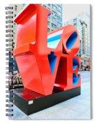 The Love Sculpture Spiral Notebook