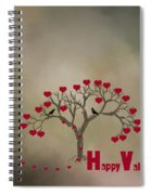 The Love Tree Spiral Notebook