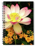 The Lovely Lotus Spiral Notebook