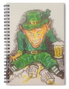 The Luck Of The Irish Spiral Notebook