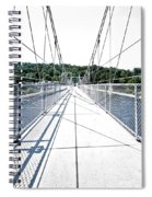 The Lumberville Raven Rock Bridge Spiral Notebook