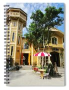 The Lyre  Spiral Notebook