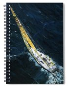 The Mac. Chicago To Mackinac Sailboat Race. Spiral Notebook
