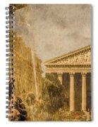 Paris, France - The Madeleine Spiral Notebook