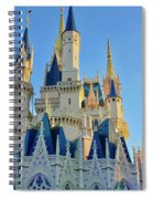 The Magic Castle Spiral Notebook
