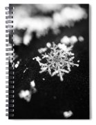 The Magic In A Snowflake Spiral Notebook