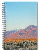 The Magic Light Of Taos  Spiral Notebook