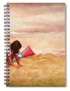 The Magic Of Sand Spiral Notebook