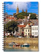 The Magic Of St. Peter Port In Guernsey Spiral Notebook