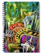 The Magical Rooftops Of Prague 02 Spiral Notebook