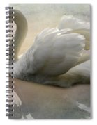 The Magical Swan  Spiral Notebook