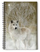 The Magical Wolf Spiral Notebook