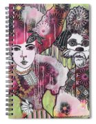 the Magicians Assistant Spiral Notebook
