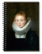 The Maid Of Honor To The Infanta Isabella Peter Paul Rubens Spiral Notebook