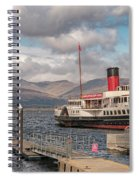 The Maid Of The Loch Spiral Notebook