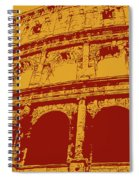 The Majestic Colosseum Of Rome Spiral Notebook