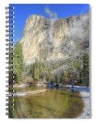 The Majestic El Capitan Yosemite National Park Spiral Notebook