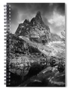 The Majesty Of Mountains Spiral Notebook