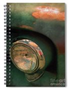 The Man At The Car Show Spiral Notebook