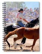The Man From Snowy River Spiral Notebook