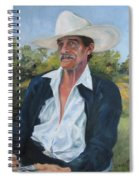 The Man From The Valley Spiral Notebook