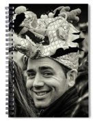 The Man In The Dragon Hat Spiral Notebook