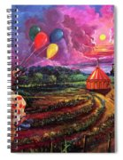 The Man In The Tent Spiral Notebook