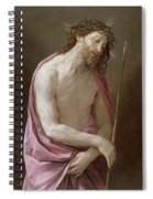 The Man Of Sorrows Spiral Notebook