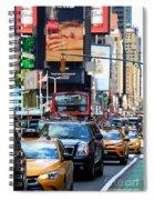 The Manhattan Morning Spiral Notebook