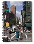 The Manhattan Sophisticate Spiral Notebook