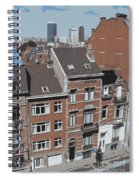 The Many Layers Of Brussels Spiral Notebook