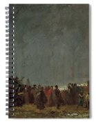 The Maple Sugar Camp Turning Off Spiral Notebook
