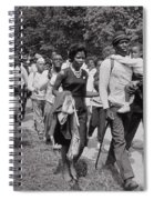 The March On Washington  Freedom Walkers Spiral Notebook